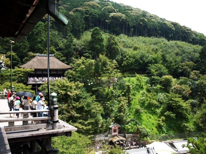Vistas desde Kiyomizu-dera, El Templo del Agua. Kyoto